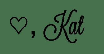 Love, Kat WordPress ending